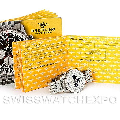 5311 Breitling Navitimer 50th Anniversary Chronograph Watch A41322 SwissWatchExpo