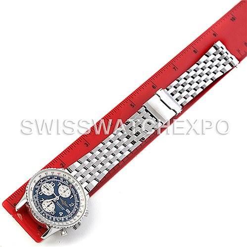 4514 Breitling Navitimer II Automatic Steel Men's Watch A13322 SwissWatchExpo