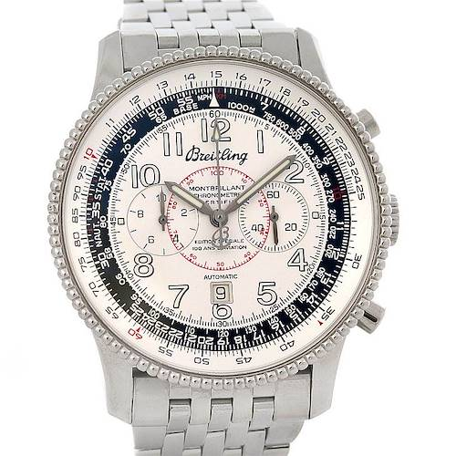 Photo of Breitling Navitimer Montbrillant Limited Edition Steel Watch A35330