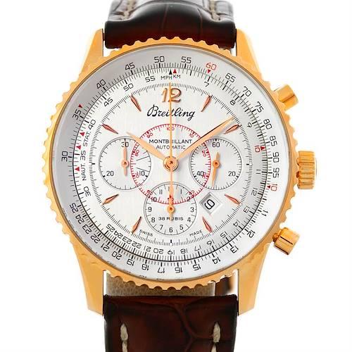 Photo of Breitling Navitimer Montbrilliant 18K Rose Gold Watch H41330