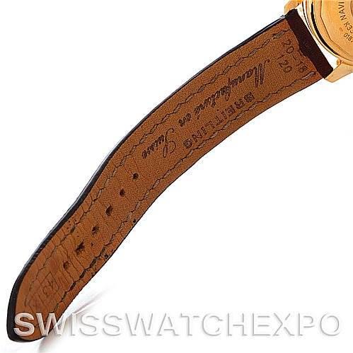 Breitling Navitimer Airborne 18K Yellow Gold Watch K33030 SwissWatchExpo