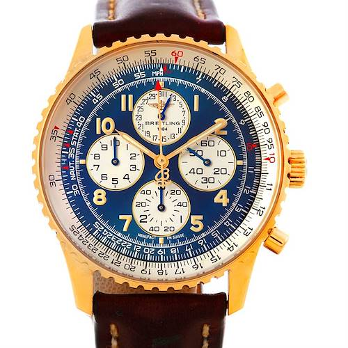 Photo of Breitling Navitimer Airborne 18K Yellow Gold Watch K33030