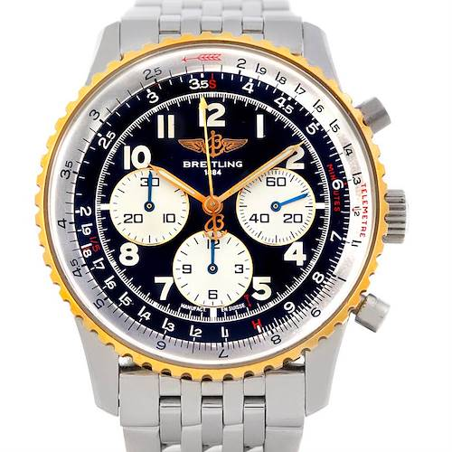 Photo of Breitling Navitimer 92 Steel and Gold Automatic Watch D30022