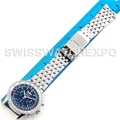 5918 Breitling Navitimer Blue Sky LE 60th Anniversary Watch AB0125 SwissWatchExpo