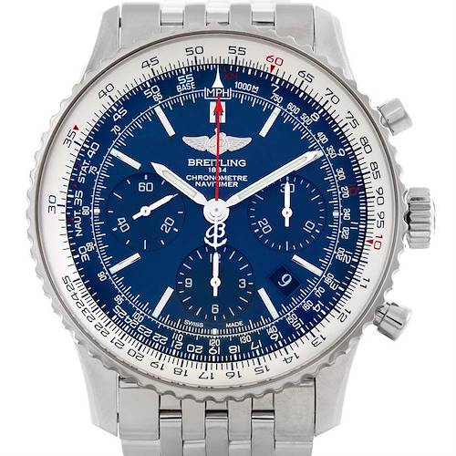 Photo of Breitling Navitimer Blue Sky LE 60th Anniversary Watch AB0125