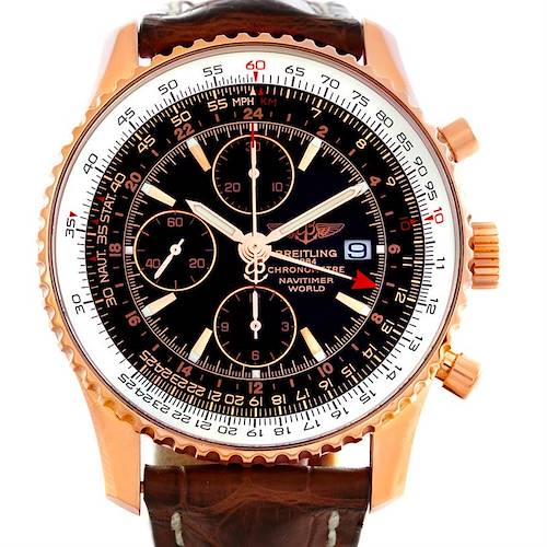 Photo of Breitling Navitimer World 111 18K Rose Gold LE Watch H24322