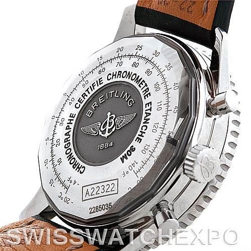 5937 Breitling Navitimer Cosmonaute Chrono Mens Watch A22322 SwissWatchExpo