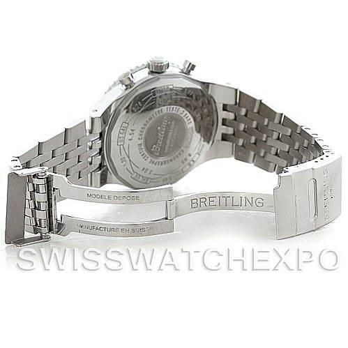 5934 Breitling Montbrillant Legende Steel Mens Watch A23340 SwissWatchExpo