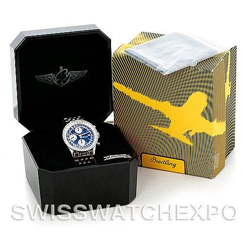 6030 Breitling Navitimer II Automatic Steel Watch A13322 SwissWatchExpo