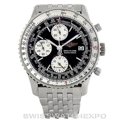 6170 Breitling Navitimer Fighter A13330 Automatic Chronograph Steel Watch SwissWatchExpo