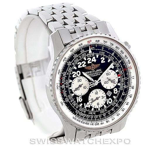 Breitling Navitimer Cosmonaute Chrono Mens Watch A22322 SwissWatchExpo