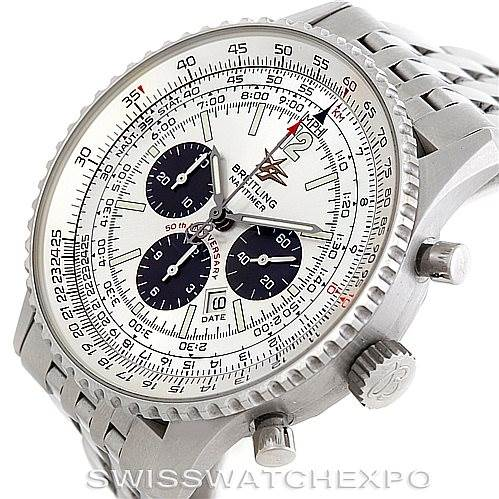 6314 Breitling Navitimer 50th Anniversary Chronograph Watch A41322 SwissWatchExpo