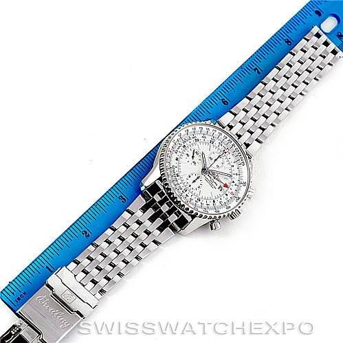 6413 Breitling Navitimer World Chronograph Steel Watch A24322 SwissWatchExpo
