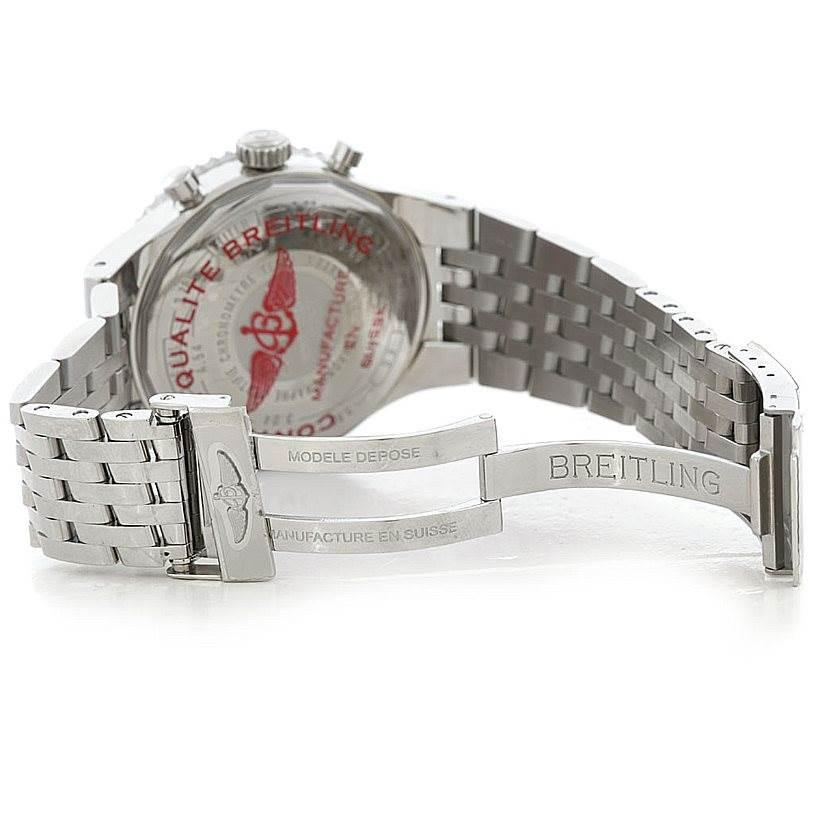 6454 Breitling Montbrillant Legende Steel Mens Watch A23340 SwissWatchExpo