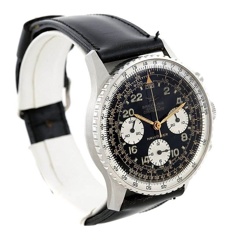 6602 Breitling Navitimer Vintage Twin Jet Cosmonaute Watch 806 Unworn SwissWatchExpo