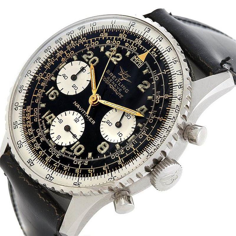 Breitling Navitimer Vintage Twin Jet Cosmonaute Watch 806 Unworn SwissWatchExpo