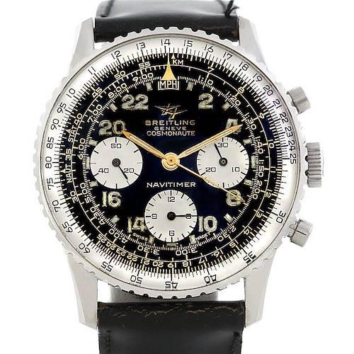 Photo of Breitling Navitimer Vintage Twin Jet Cosmonaute Watch 806 Unworn