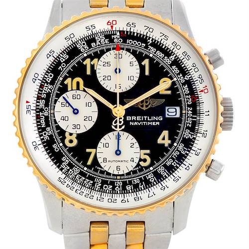 Photo of Breitling Navitimer Steel and Gold Automatic Watch D13020
