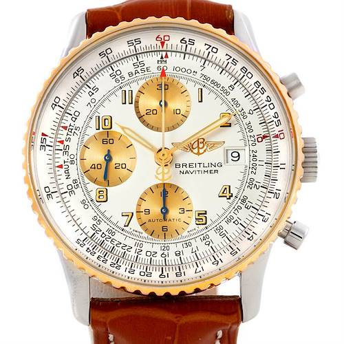 Photo of Breitling Navitimer Automatic Steel 18K Yellow Gold Watch B13019