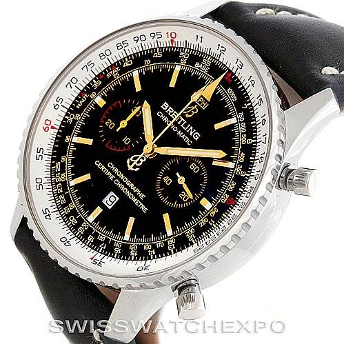 6794 Breitling Chronomatic Limited Edition Mens Watch A41350 SwissWatchExpo