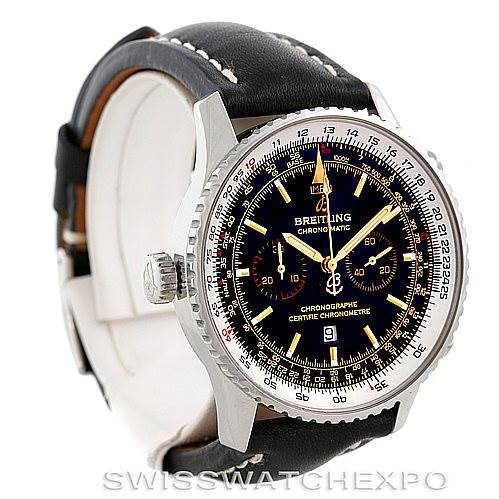 Breitling Chronomatic Limited Edition Mens Watch A41350 SwissWatchExpo