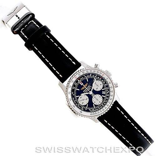 6854 Breitling Navitimer Automatic Chronograph Steel Watch A23322 SwissWatchExpo