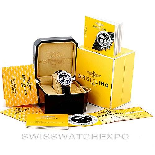 Breitling Navitimer Automatic Chronograph Steel Watch A23322 SwissWatchExpo