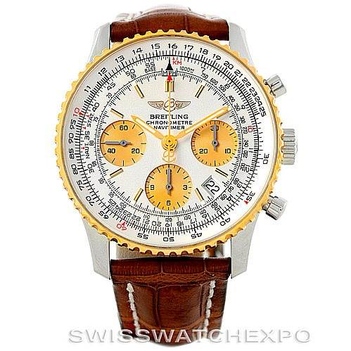 Breitling Navitimer Steel and Gold Automatic Watch D23322 SwissWatchExpo