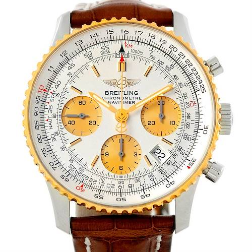 Photo of Breitling Navitimer Steel and Gold Automatic Watch D23322