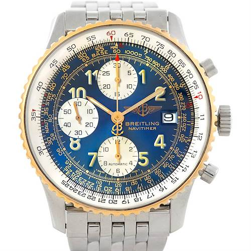 Photo of Breitling Navitimer II Automatic Steel and 18K Yellow Gold Watch D13022