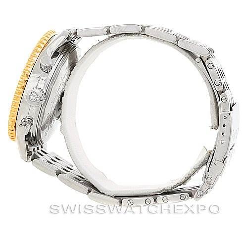Breitling Navitimer Cosmonaute Steel 18K Yellow Gold D22322 SwissWatchExpo
