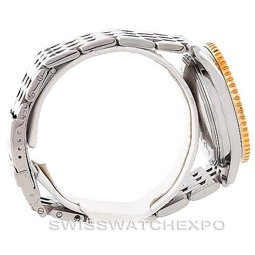 6970 Breitling Navitimer Cosmonaute Steel 18K Yellow Gold D22322 SwissWatchExpo