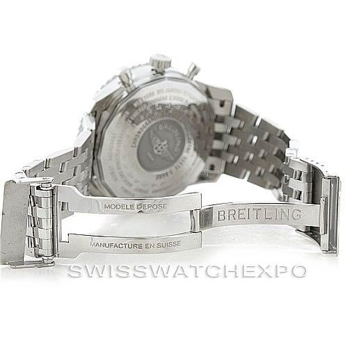 6969 Breitling Navitimer World Chronograph Steel Watch A24322 SwissWatchExpo