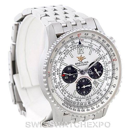 Breitling Navitimer 50th Anniversary Chronograph Watch A41322 SwissWatchExpo