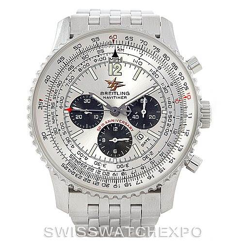 6983 Breitling Navitimer 50th Anniversary Chronograph Watch A41322 SwissWatchExpo