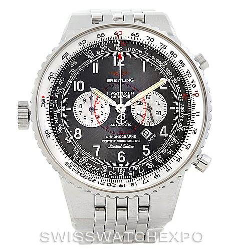 Breitling Navitimer Heritage Left Crown LE Mens Watch A35360 SwissWatchExpo