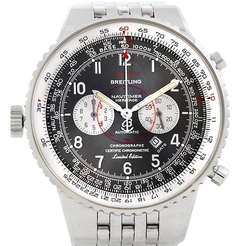 Photo of Breitling Navitimer Heritage Left Crown LE Mens Watch A35360