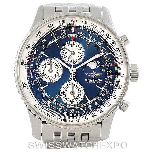 7198 Breitling Navitimer Montbrillant Olympus Mens Watch A19340 SwissWatchExpo