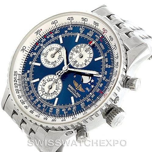 Breitling Navitimer Montbrillant Olympus Mens Watch A19340 SwissWatchExpo