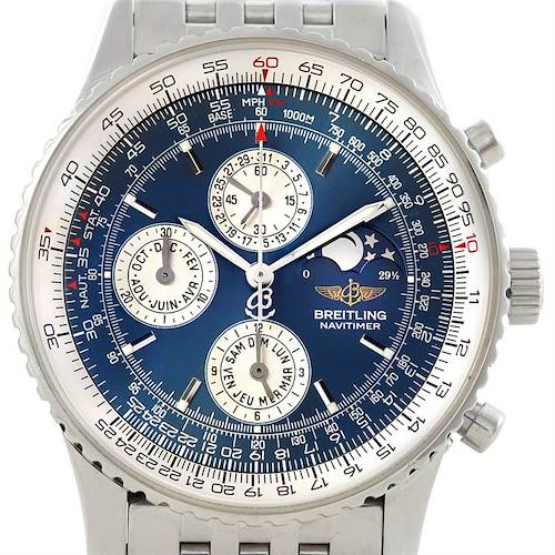 Photo of Breitling Navitimer Montbrillant Olympus Mens Watch A19340
