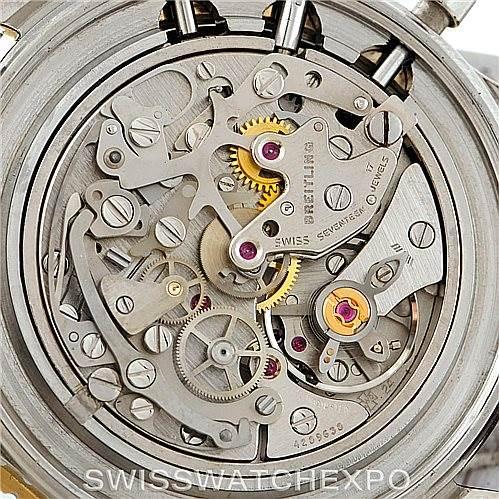 7317 Breitling Navitimer Cosmonaute Chrono Mens Watch 81600 SwissWatchExpo