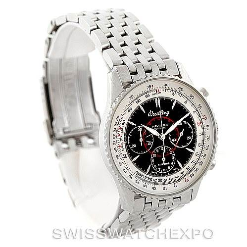 7225 Breitling Navitimer Airborne Stainless Steel Watch A33030 SwissWatchExpo