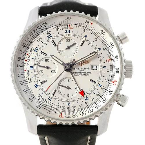 Photo of Breitling Navitimer World Chronograph Steel Watch A24322