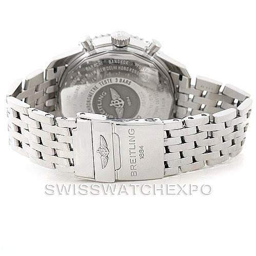 7359 Breitling Navitimer World Chronograph Steel Watch A24322 SwissWatchExpo