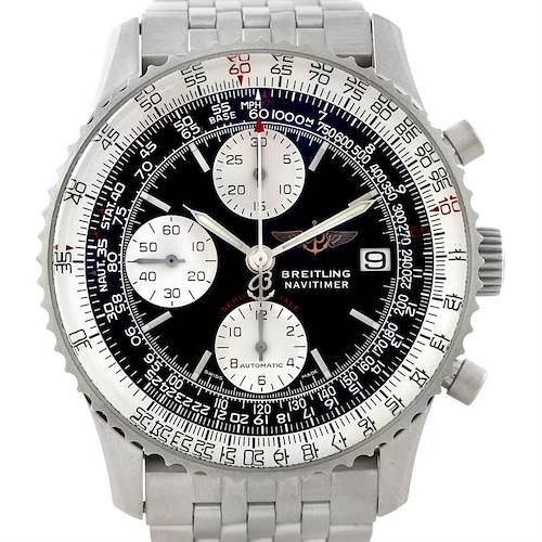 Photo of Breitling Navitimer Fighter Automatic Chronograph Steel Watch A13330