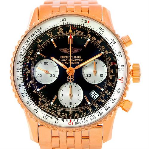 Photo of Breitling Navitimer 18K Rose Gold Limited Edition Watch R23322