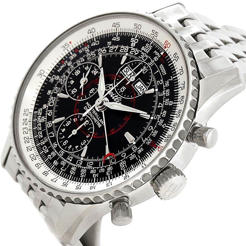 Breitling Navitimer Montbrillant Datora Mens Watch A21330 SwissWatchExpo