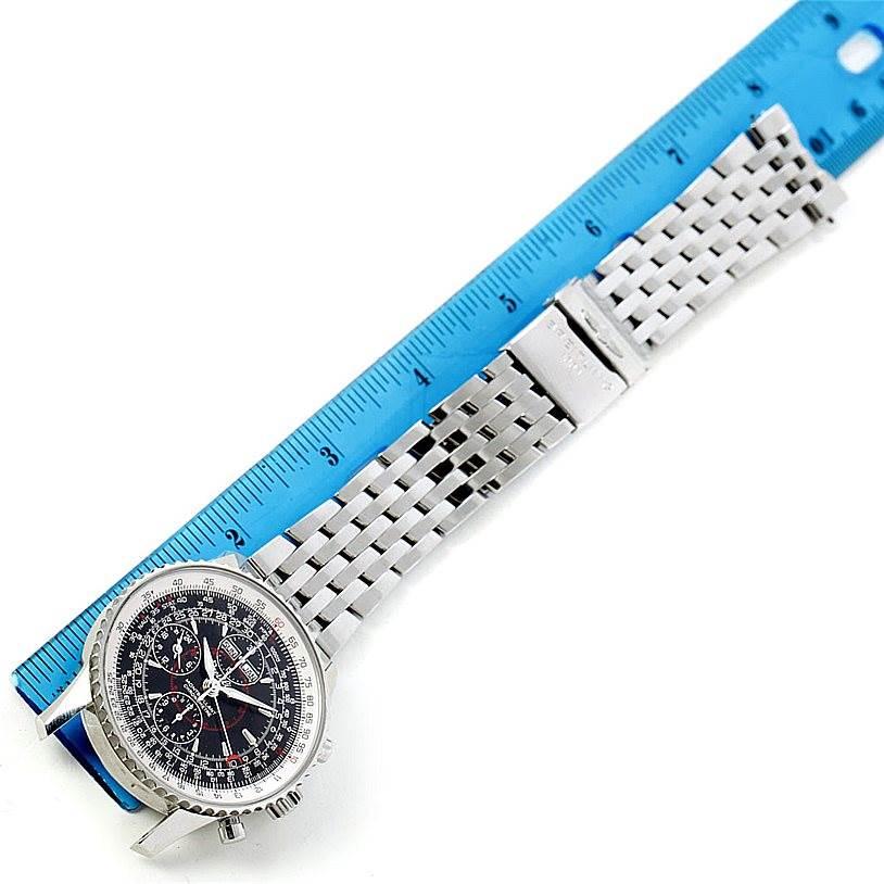 7432 Breitling Navitimer Montbrillant Datora Mens Watch A21330 SwissWatchExpo