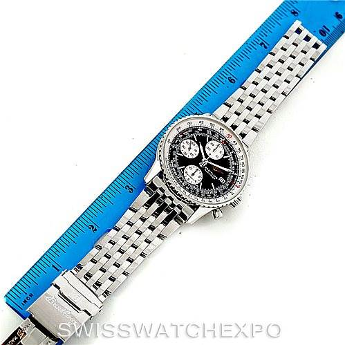 7465 Breitling Navitimer II Automatic Steel Watch A13322 SwissWatchExpo