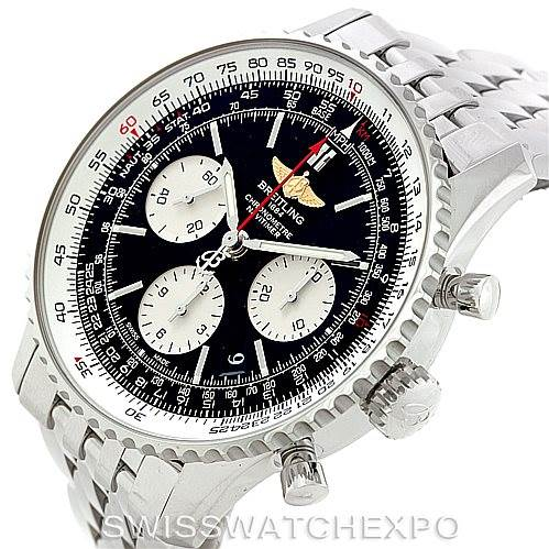 7815 Breitling Navitimer 01 Automatic Steel Watch AB0120 SwissWatchExpo
